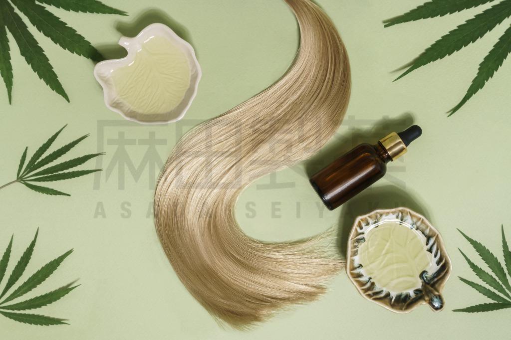 CBDやCBDオイルと髪の毛